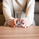 グラスに入った水