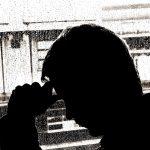 うつ病に悩む男性